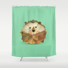 Hedgehog. Shower Curtain
