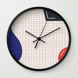basic-wave Wall Clock