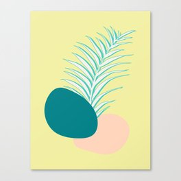 Spring Palm #society6 #spring Canvas Print