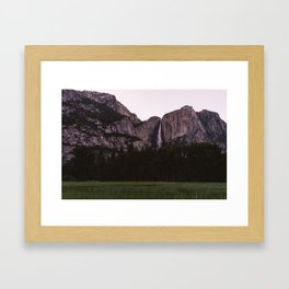 Yosemite Sunset Framed Art Print