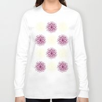 wallpaper Long Sleeve T-shirts featuring wallpaper by Art Stuff