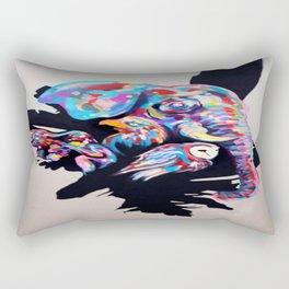 Rainbow Animals Rectangular Pillow