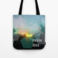 route five Tote Bag