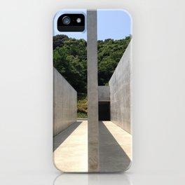 Lee Ufan Museum, Naoshima Island - Ellie Wen iPhone Case