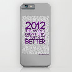 2012...It Was Emotional iPhone 6s Slim Case