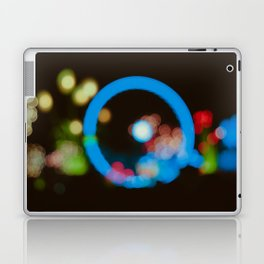 Lights in the city Laptop & iPad Skin