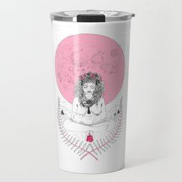 Full Moon in Cancer Travel Mug