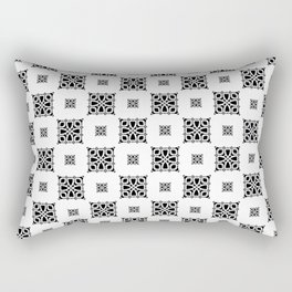 Callisto II (Black) Rectangular Pillow