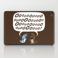 regular show iPad Cases featuring Regular Show - Mordecai and Rigby by Joel Jackson