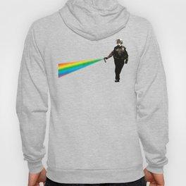 Pepper Spray Cop Rainbow - Pop Art Hoody