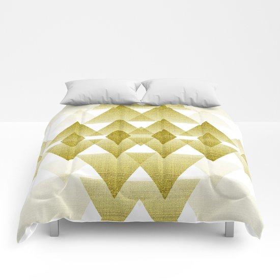 Golden Spirit Comforters