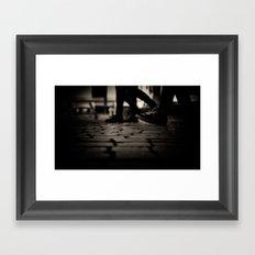 Street order Framed Art Print