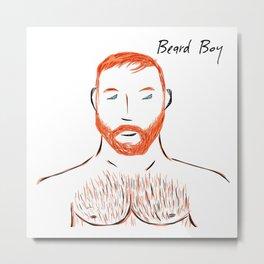 Beard Boy: Seth Metal Print