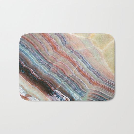 Pastel Onyx Marble Bath Mat