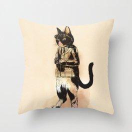 rollei_gut Throw Pillow