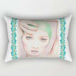 cap girl... Rectangular Pillow