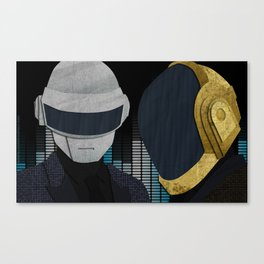 Harder Better Faster Stronger Canvas Print