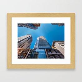Looking up at MidCity Centre in Sydney Framed Art Print