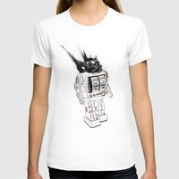 army T-shirts featuring robot army by Tom Kitchen