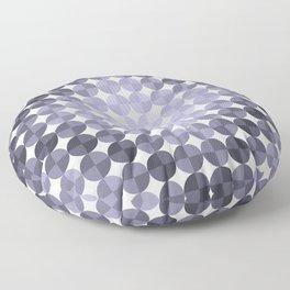 Circle Shine (Purple) Floor Pillow