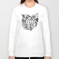 ohio Long Sleeve T-shirts featuring Ohio. by Stefani Reeder