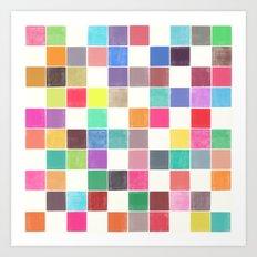 colorquilt 1 Art Print