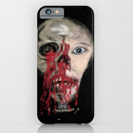 Haunted by my youth iPhone Case
