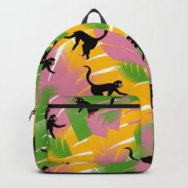 Vintage Monkeys Backpack