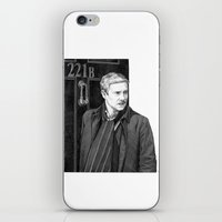 moustache iPhone & iPod Skins featuring Moustache by Alessia Pelonzi