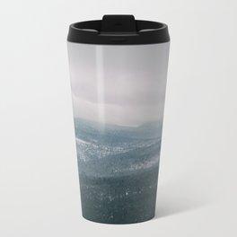 Foggy Mountains Travel Mug