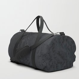 Blac And Tan Abstract Metal Background Duffle Bag