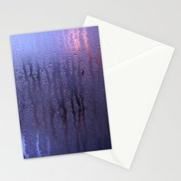 Purple Condensation Stationery Cards