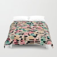 depeche mode Duvet Covers featuring blending mode by spinL