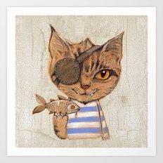 Killer Cat Art Print