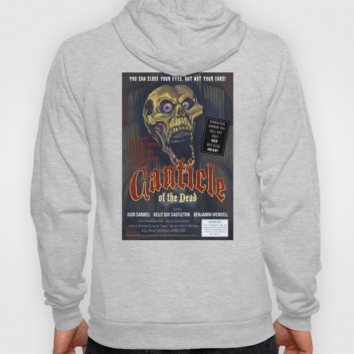 """Canticle of the Dead"" Movie Poster Hoody"