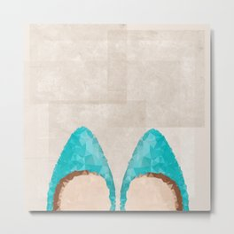 Magical Shoes Metal Print