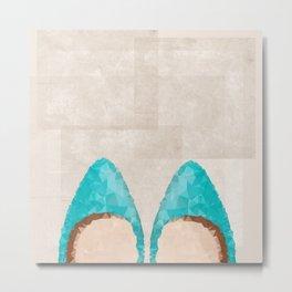 Magical Shoes Metal Print