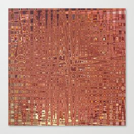 Jungles Of Pink Lines Canvas Print