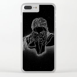 A Dip in The Universe Clear iPhone Case