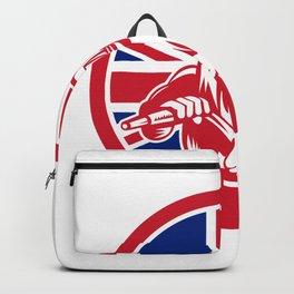 British Sandblaster Union Jack Flag Backpack