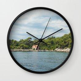 Lokrum Croatia Wall Clock