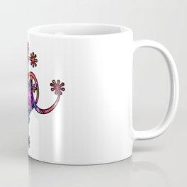 Pink Marie Laveau Veve Sigil Coffee Mug