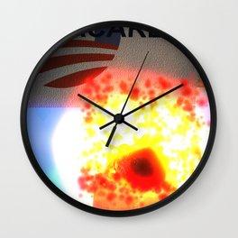 Fly: Care Wall Clock