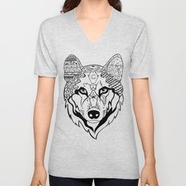Sonya The Wolf Unisex V-Neck
