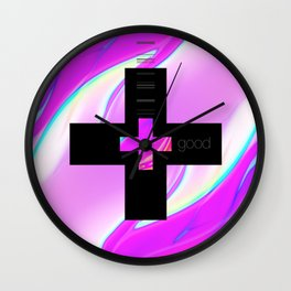 double plus good Wall Clock