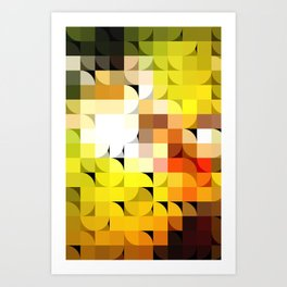 Tessal8td Art Print