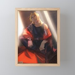 Heart made Fullmetal Framed Mini Art Print