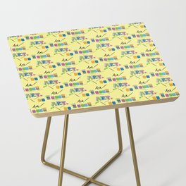 Art Supplies Side Table
