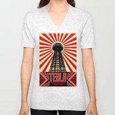 Tesla Unisex V-Neck