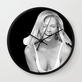 Charlize Theron - Celebrity Art Wall Clock
